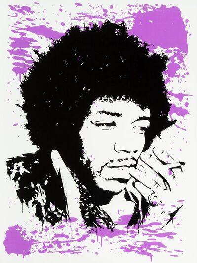 Mr. Brainwash, 'Jimi Hendrix Purple Haze', 2009