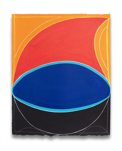 Jessica Snow, 'Gravitational Wave (Abstract painting)', 2016