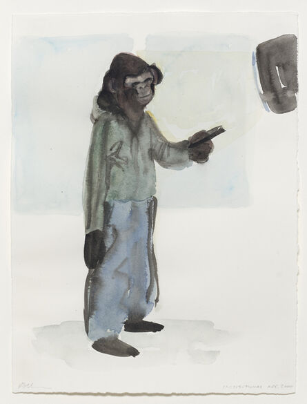 Ricky Swallow, 'Institutional Ape', 2000