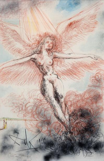 Salvador Dalí, 'Angel in Ecstasy', 1966
