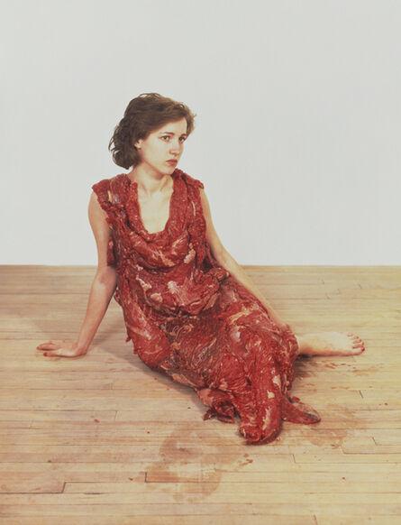Jana Sterbak, 'Vanitas FleshDress for an Albino Anorectic ', 1987