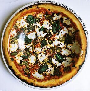 Ralph Goings, 'Pizza Stromboli Mezzalluna - Mezzogiorno - New York, NY', ca. 2000