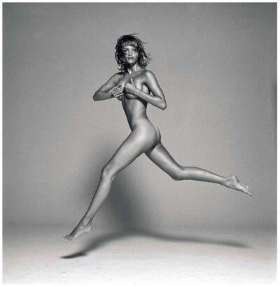 Michel Comte, 'Helena Christensen Jumping', 1993