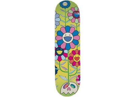 Takashi Murakami, 'Flower Cluster Skateboard', 2019
