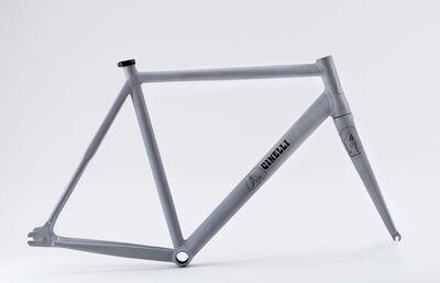 Barry McGee, 'Cinelli Vigorelli handpainted bike frame ', 2020