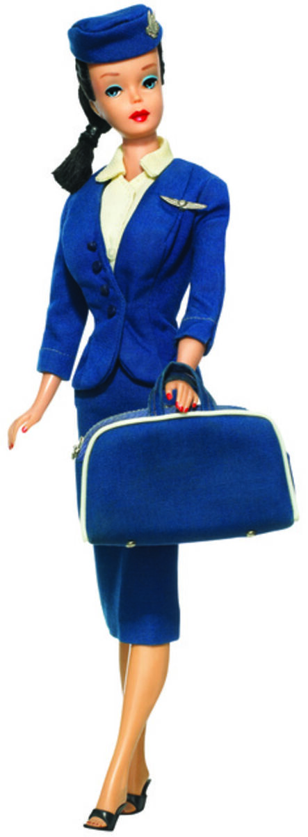 Mattel, 'Flight Attendant Barbie', 1961