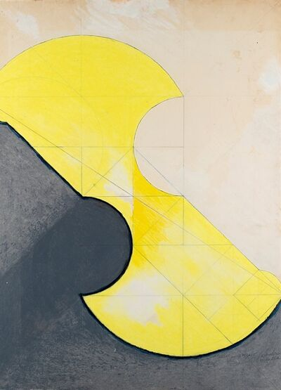 Giò Pomodoro, 'Studio per spirale', 1967