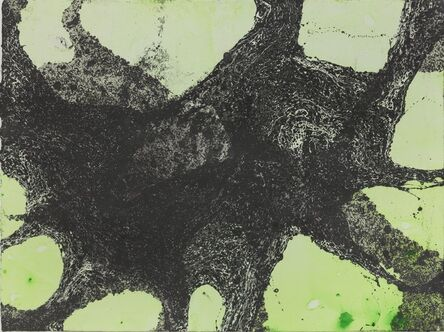 Richard Deacon, 'Green/Black', 2012