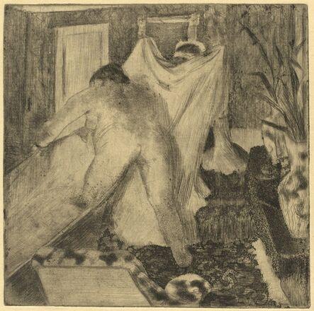 Edgar Degas, 'Leaving the Bath (La sortie du bain)', ca. 1879/1880