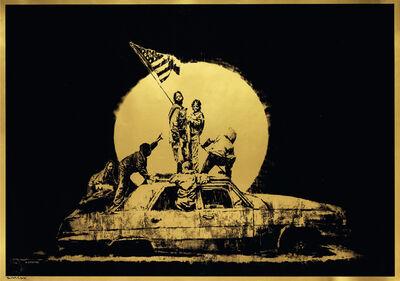 Banksy, 'Gold Flag / Formica Flag', 2007