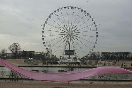 Celeste Leeuwenburg, 'La grande rouge, Paris', 2015