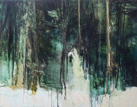 Tu Hongtao, 'Three Friends of Winter-Pine, Bamboo and Plum', 2015