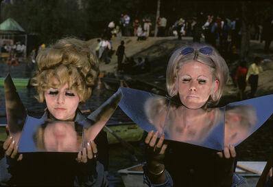 Frank Horvat, 'Suntan Mirrors in Central Park, New York', 1969