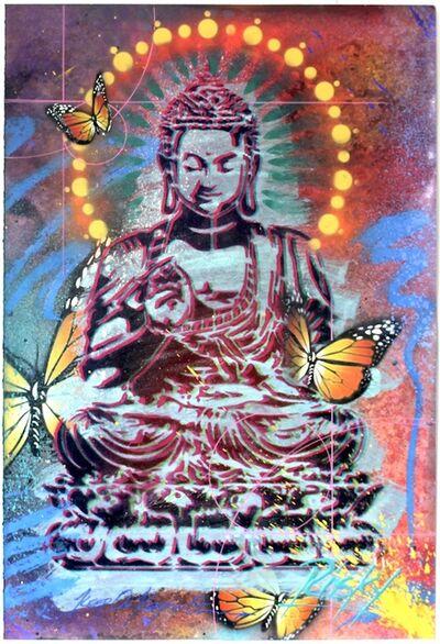 RISK, 'Peaceful Buddha #8', 2021