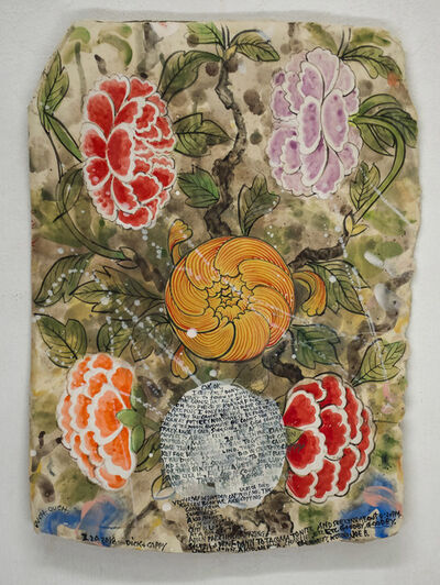 Cappy Thompson and Dick Weiss, 'FLORAL COMPOSITION', 2018