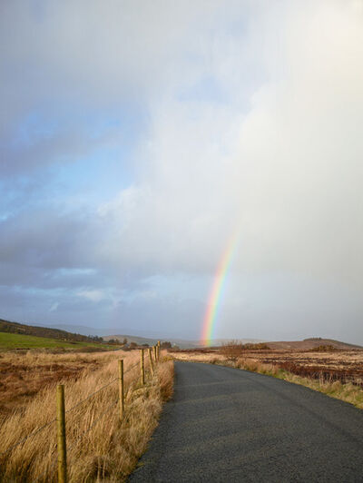 Paul Graham, 'Road, Co. Donegal, 2012', 2012