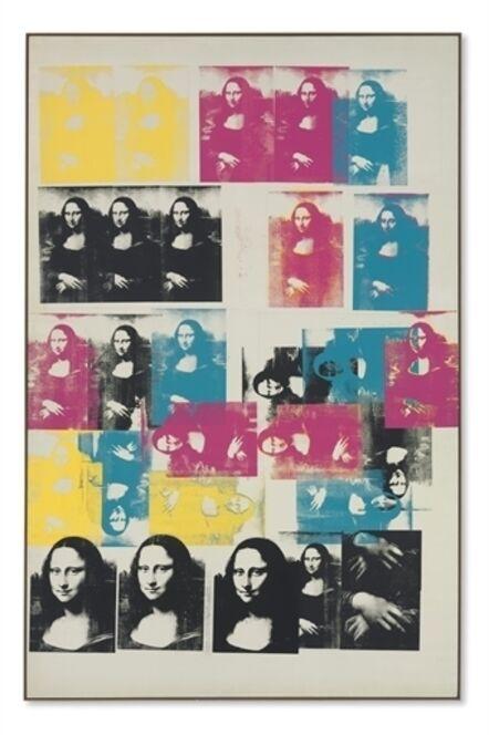 Andy Warhol, 'Colored Mona Lisa'