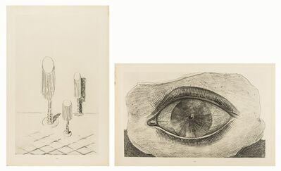 Max Ernst, 'La Roue de la lumière; Entre dans les continents (two works)', 1926