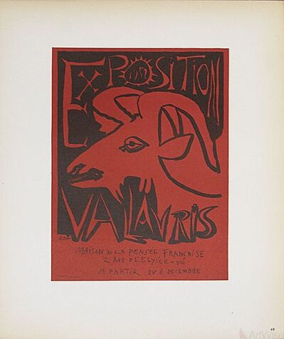 Pablo Picasso, 'Exposition Vallauris', 1959