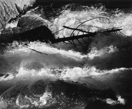 Ansel Adams, 'Rushing Water, Merced River, Yosemite National Park', 1955
