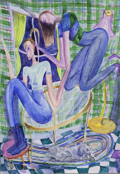 Charlie Roberts, 'Hair Party', 2017