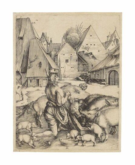 Albrecht Dürer, 'The Prodigal Son (B., M., Holl. 28; S.M.S. 9)', ca. 1496