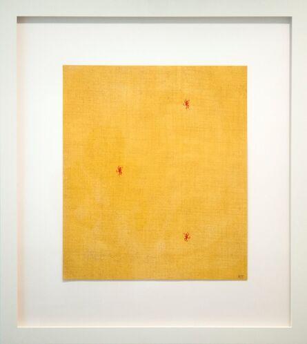 Robert Therrien, 'No title (three devils on yellow)', 1997