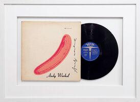 "Andy Warhol, 'Vinyl record ""Peeled Banana"" - Velvet Underground & Nico', 1967"