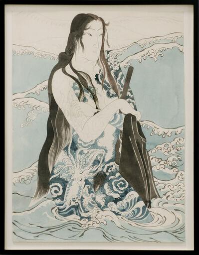 Masami Teraoka, 'Work Painting for Wave Series', 1984