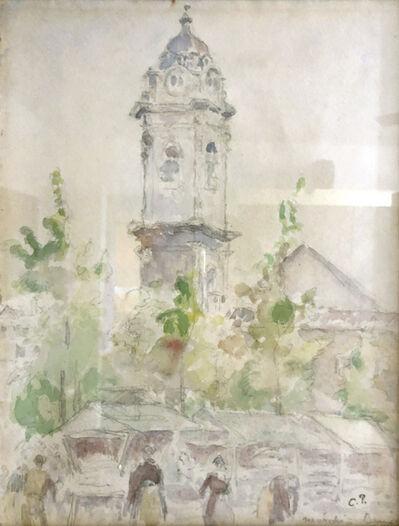 Camille Pissarro, 'Marché', ca. 1894