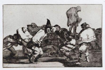 Francisco de Goya, 'Alegrias Antruejo, que Manana Seras Ceniza', ca. 1816