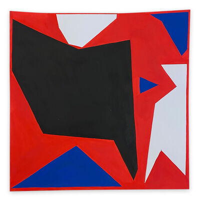 Ulla Pedersen, 'Cut-Up Paper 2004 (Abstract painting)', 2020