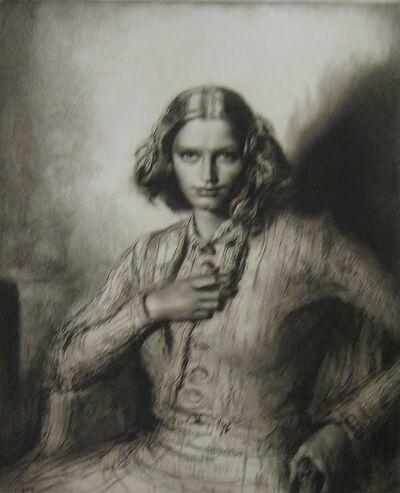 Gerald Leslie Brockhurst, 'Jeunesse Dor'ee (Kathleen Nancy Woodward)', 1942