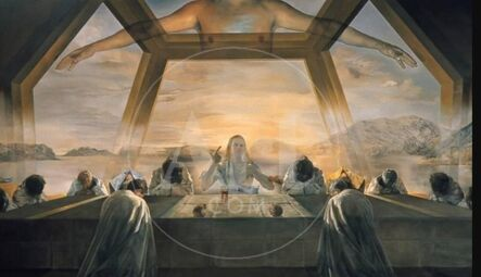 Salvador Dalí, 'The Sacrament of the Last Supper', ca. 1955