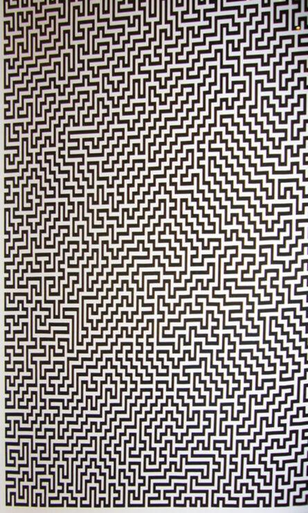 Ignacio Uriarte, 'Single-Line Labyrinths 2', 2007