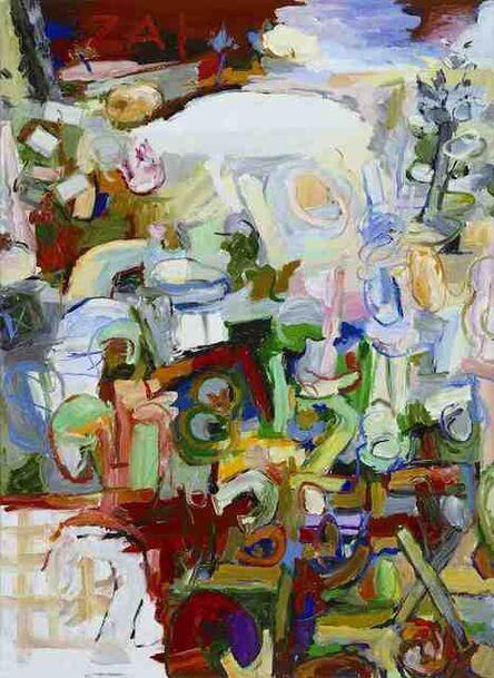 Uwe Kowski, 'Zahlenfluss', 2008