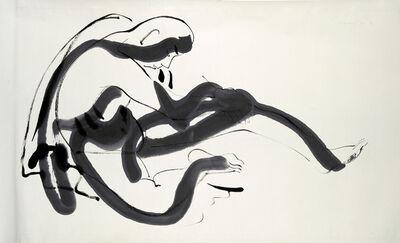 Isamu Noguchi, 'Peking Drawing (man sitting)', 1930