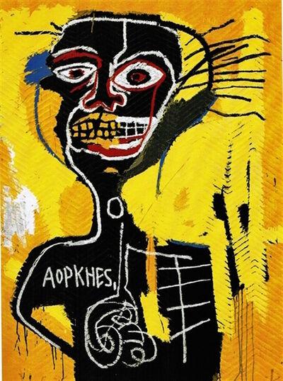 Jean-Michel Basquiat, 'Cabeza', 1982/2004