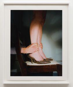 Jo Ann Callis, 'Hands on Ankles', ca. 1976