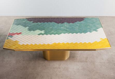 India Mahdavi, 'Landscape Table #2'
