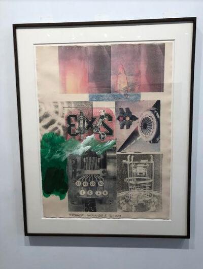 Robert Rauschenberg, 'Untitled (Happy Easter)', 1986