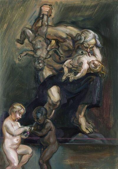 Johannes Phokela, 'Saturn devours his children', 2015