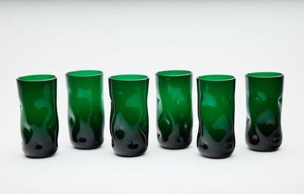 Dale Chihuly, 'Dale Chihuly 70's Green Glass 6 Original Handblown Contemporary', ca. 1970