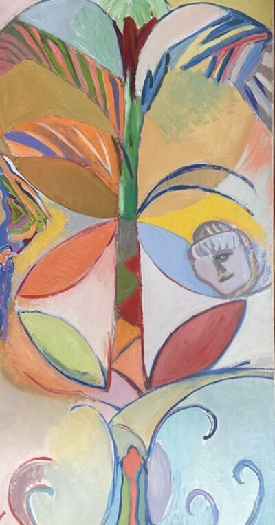 Deborah Rosenthal, 'The Righteous Person Shall Flourish As the Palm', 1987