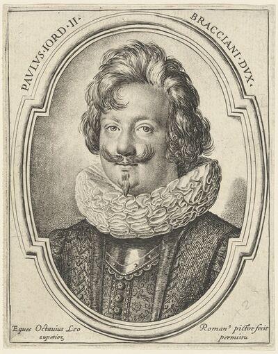 Ottavio Leoni, 'Paolo Giordano Orsini II'