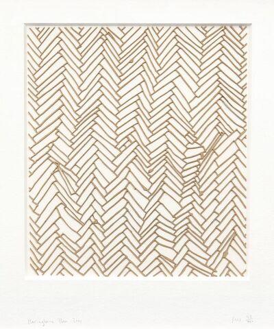 Rachel Whiteread, 'Herringbone Floor', 2001