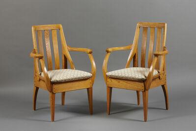 Richard Riemerschmid, 'Pair of armchairs', 1906-1907