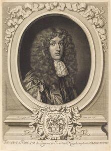 David Loggan, 'Sir Thomas Isham', 1676