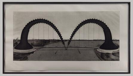 Claes Oldenburg, 'Screwarch Bridge', 1980