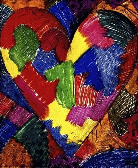 Jim Dine, 'A Beautiful Heart', 1996